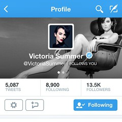 Little things make my day! Victoria Summer played Julie Andrews in Saving Mr. Banks! #victoriasummer