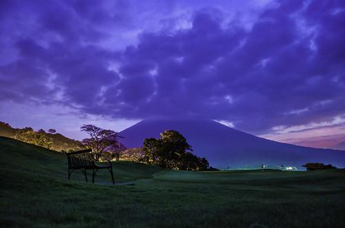 clouds sunrise landscape volcano guatemala
