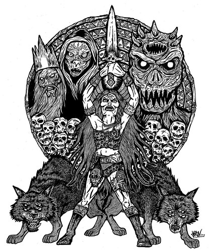 , Jean Saiz, Shadow of the Blade, My cartoon Blog, My cartoon Blog