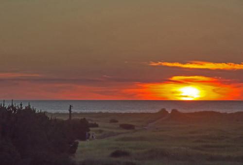 sunset beach pacificocean breakers longbeachwashington