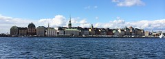 Stockholm Gamla stan from see