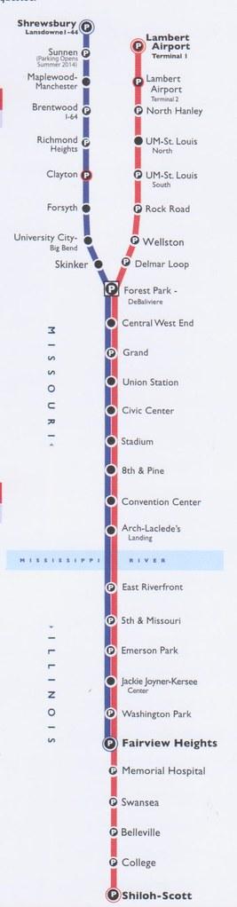 Metrolink STL 2014 Map