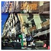 My daily Reflection, today Madrid reflected on a bus passing by... #mobilephotography #iphoneography #iphonography #reflectionphotography