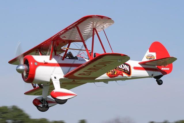 Red Baron Stearman (N802RB)   Blakesburg AAA/APM ...  Red Baron Biplane
