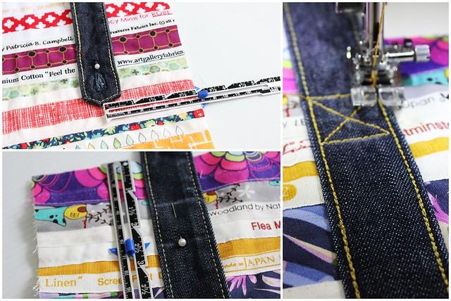 sew the strap
