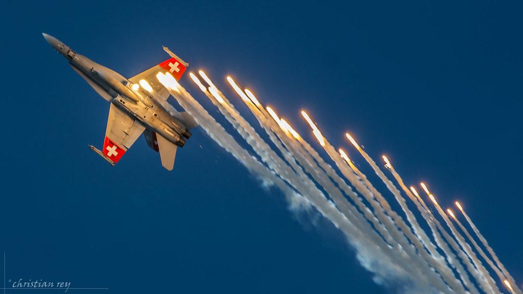 Air14 Payerne: FA-18 Hornet swiss air force