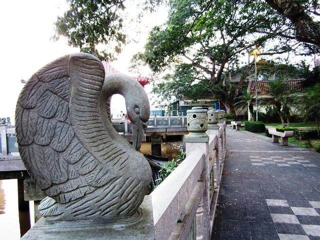 Park behind Tua Pek Kong temple, Sibu