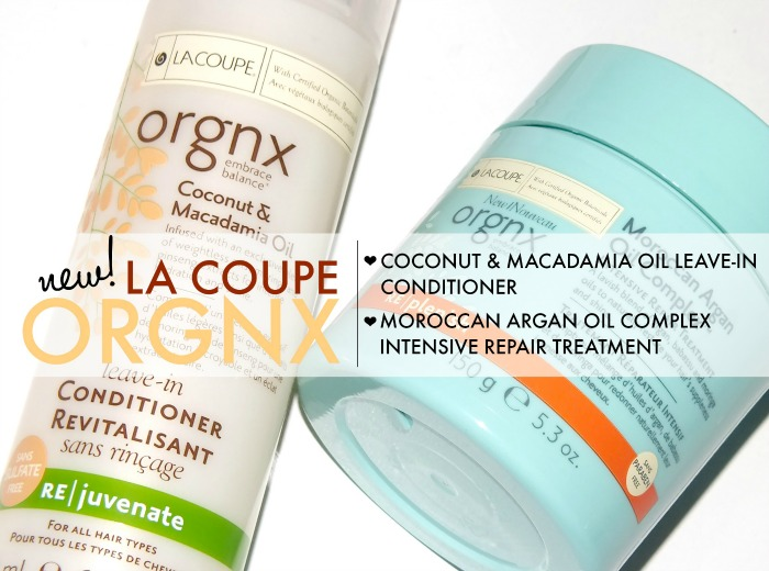 la coupe orgnx coconut & macadamia oil leave in and moroccan argan oil complex treatment  (2)