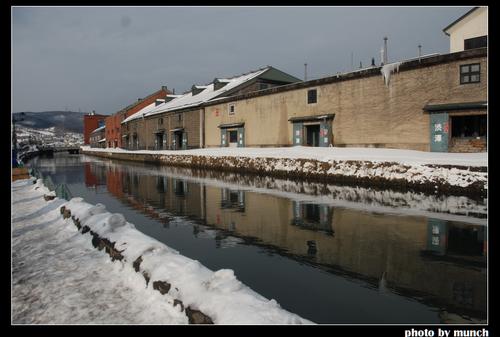 北海道小樽運河。圖片來源:munch