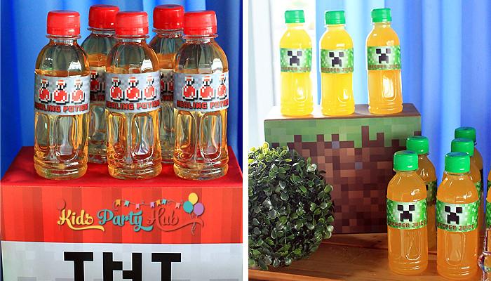 Minecraft Theme Party Ideas