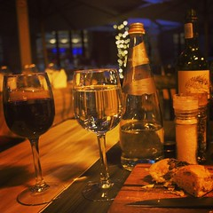 Great red #wine and #food in #Johannesburg #latergram #Africa  #SouthAfrica