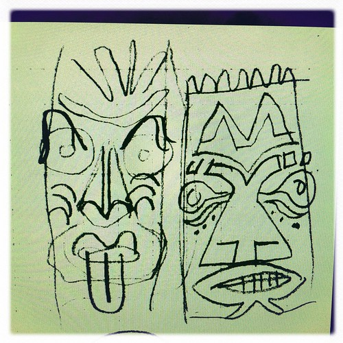 tiki sketches