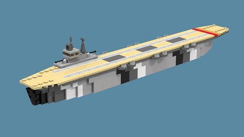Chilperic-class escort carrier