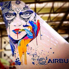 Think ink: Airbus revolutionises how an airline's livery is applied to jetliners: #aviation #aircraft #airbus