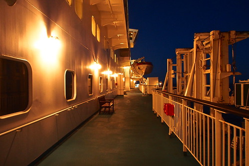 Deck of the moonlit night
