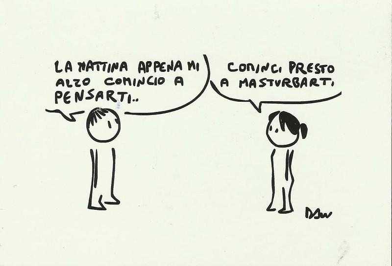 italian funny cartoon postcard