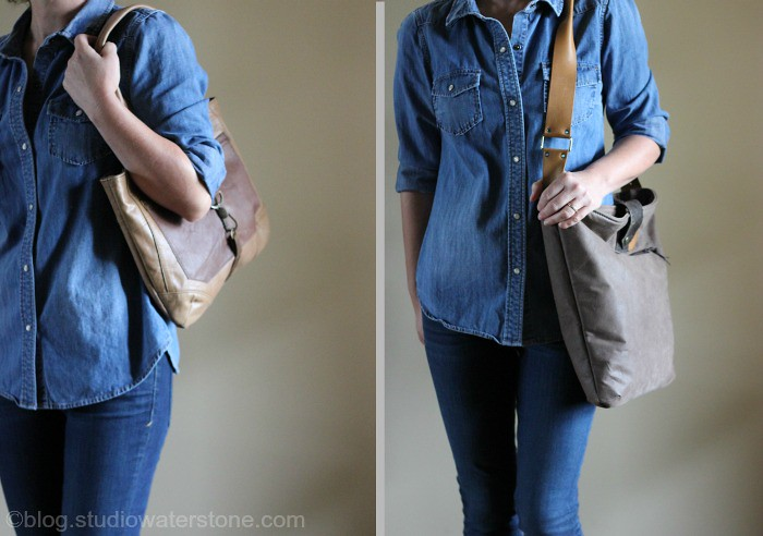 New Studio Waterstone Leather Bags
