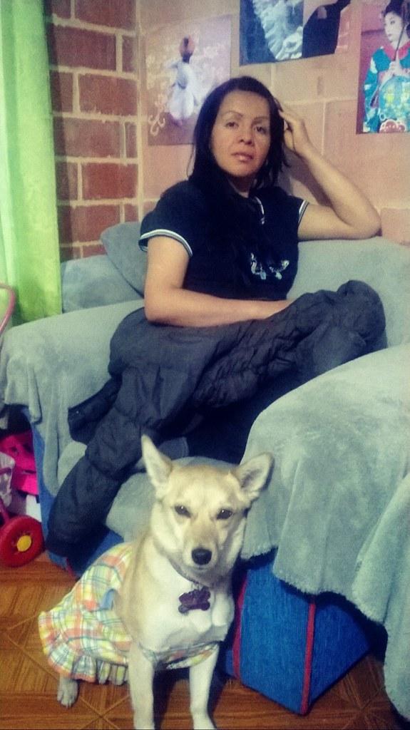 Fanny y la pequeña Miranda