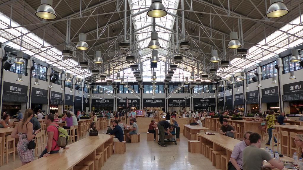 Lisboa - Mercado da Ribeira
