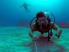 diving(0.0), freediving(0.0), underwater diving(1.0), sports(1.0), sea(1.0), recreation(1.0), outdoor recreation(1.0), marine biology(1.0), scuba diving(1.0), divemaster(1.0), water sport(1.0), underwater(1.0), reef(1.0),