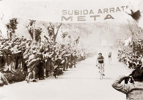 Subida a Arrate 1960