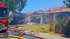 3 Alarm blaze destroys 2 Sunnyvale homes