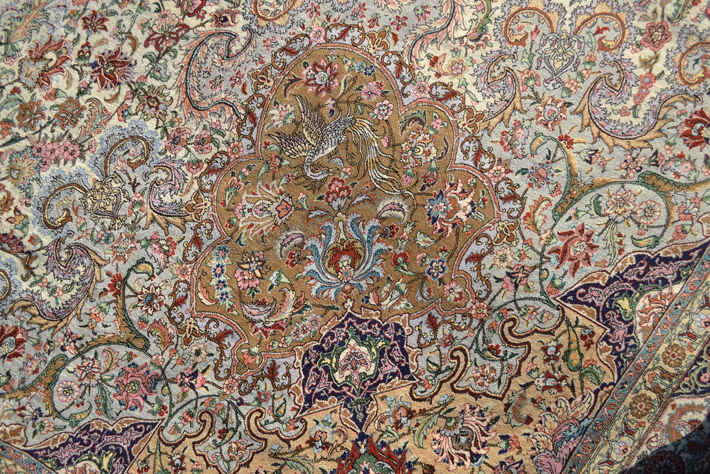 Extremely Rare 5x8 M Tabriz Master Piece Persian Rug