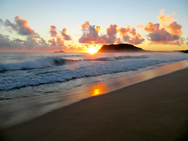 Oahu sunrise