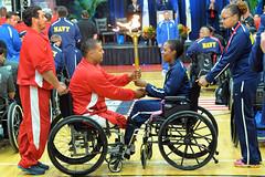 sports(0.0), wheelchair basketball(0.0), wheelchair racing(0.0), wheelchair(1.0), wheelchair sports(1.0),