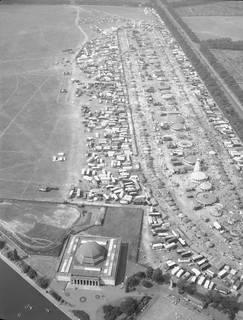 The Hoppings, Newcastle Town Moor, 1960