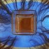 Blue-eyed brown swill sludge Alles was Undine sieht ist eine blauäugige braune Brühe kein Schrein keine verborgene Zukunft - Aleatorics with an Egg in a Glass Cube, using a technique of Egg Oracle Ei Aleatorik im Glas Würfel, Ei Orakel by hedbavny