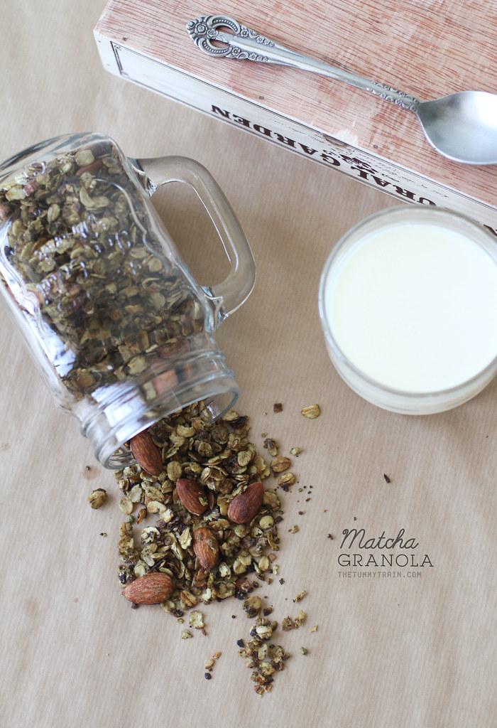 18642784980 e5599befa2 b - A quick Matcha Granola recipe to perk up your Mondays