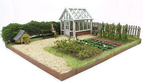 Greenhouse Diorama