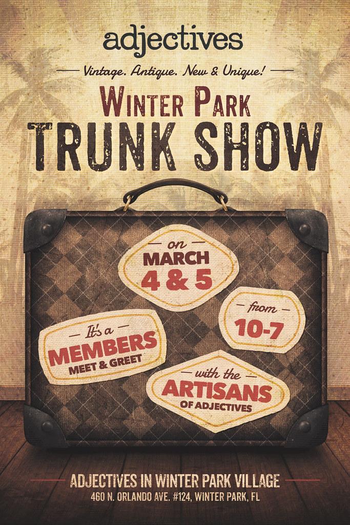 A Winter Park Trunk Show - MARCH 4 & 5