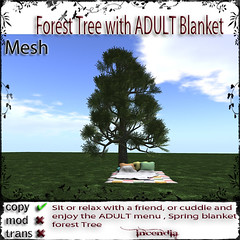 Forest Tree ADULT Blanket