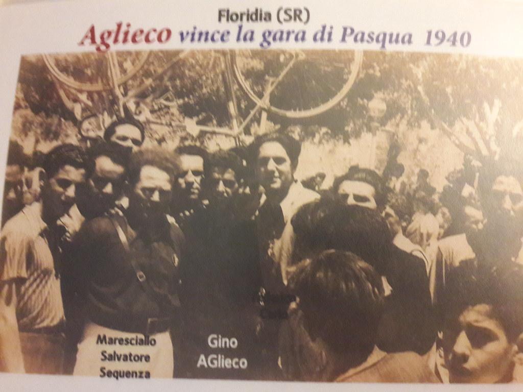 Aglieco vince la gara di Pasqua (1940)