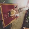Cigar box lute at McGees #eatlocal #Irishpub #anderson