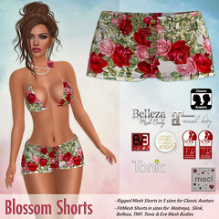 Maci ~ Blossom Shorts (Hunt Item for SOS Event)