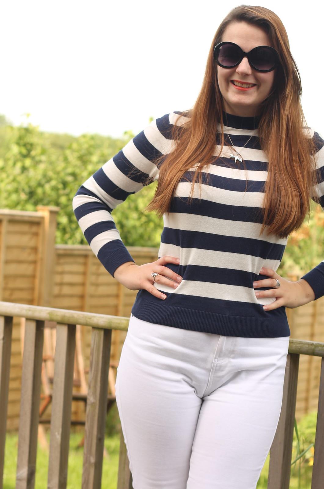 Striped ASOS jumper