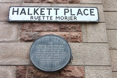 Photo of Colin Halkett grey plaque