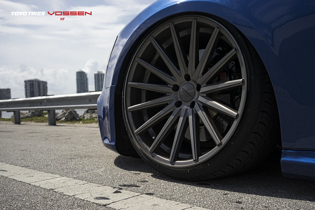 Supercharged Audi Rs5 Meets Vossen Vf Series Vfs 2