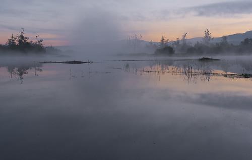 morning fog landscape geotagged spring slovenia slovenija jutro notranjska megla pomlad cerknicalake cerkniškojezero intermittentlake rešeto presihajočejezero