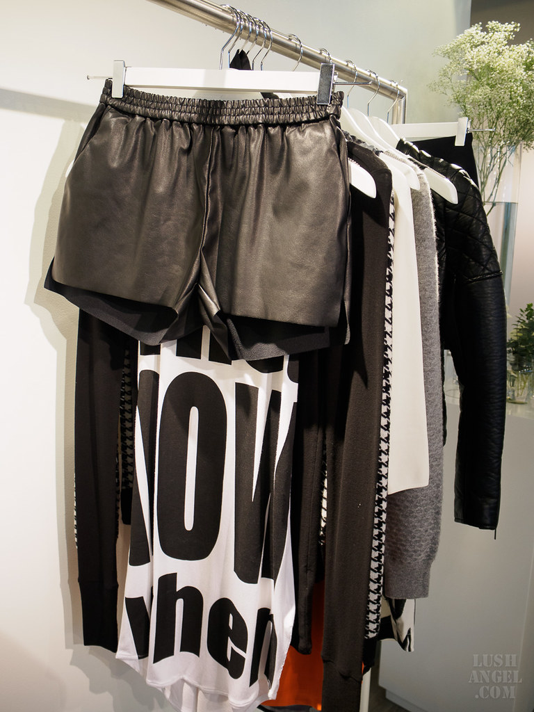 h&m-leather-shorts