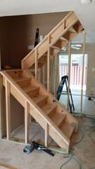floor, wood, hardwood, stairs,