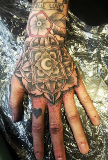 Mandala tattoo by ALX TRAMP