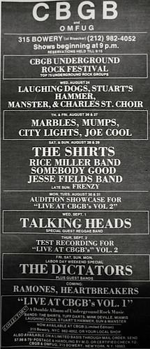 CBGB 08-24-76