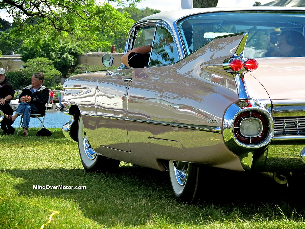 1959 Cadillac Coupe De Ville at the Greenwich Concours d'Elegance