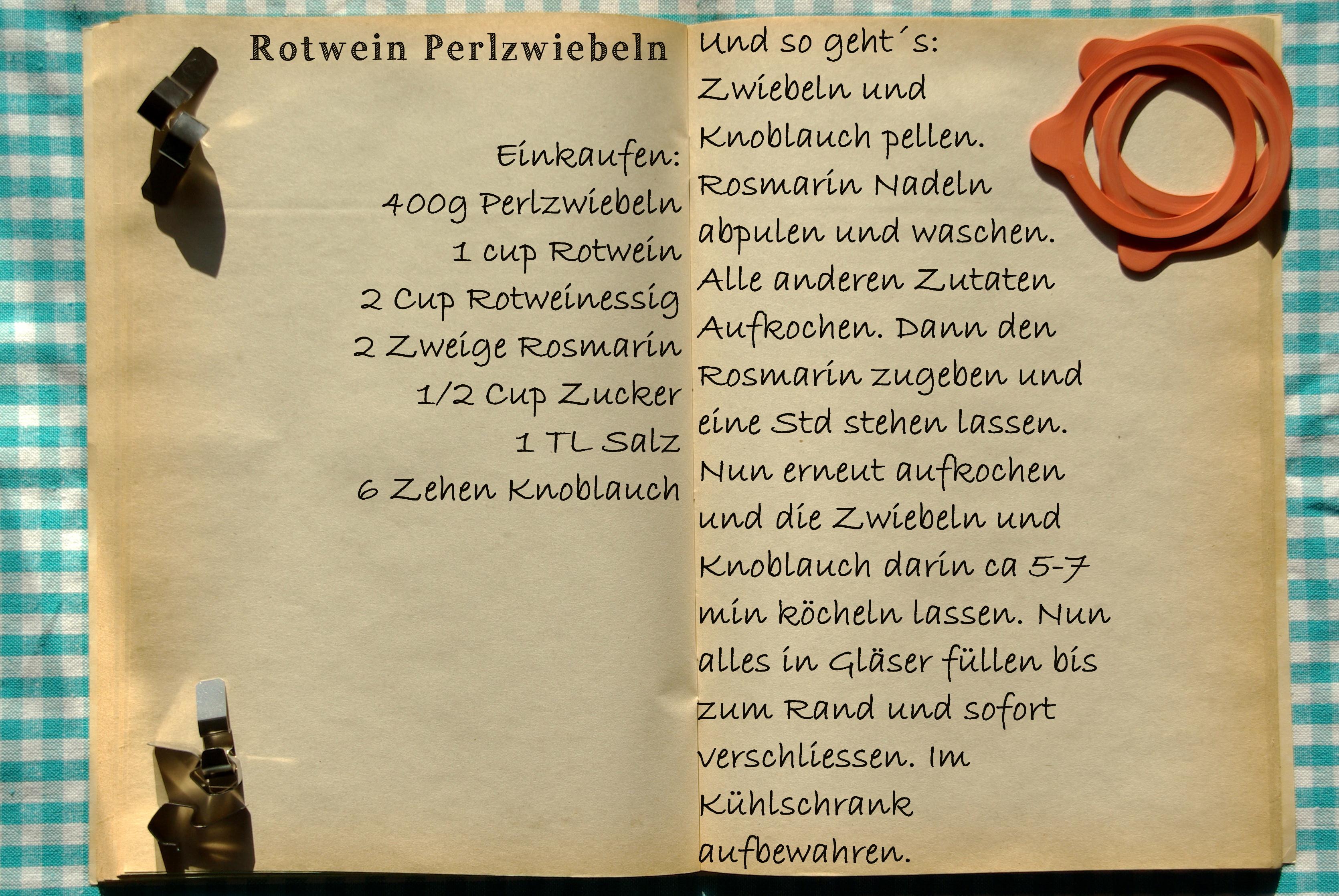 Einkaufszettel Rotweinperlzwiebeln by Glasgefluester