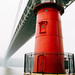 The Little Red Lighthouse by BautistaNY