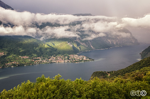 Lago di Como, verso Lecco